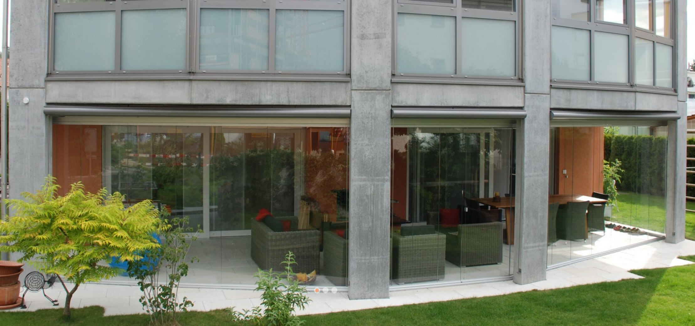 COVER Sitzplatz- und Balkonverglasung