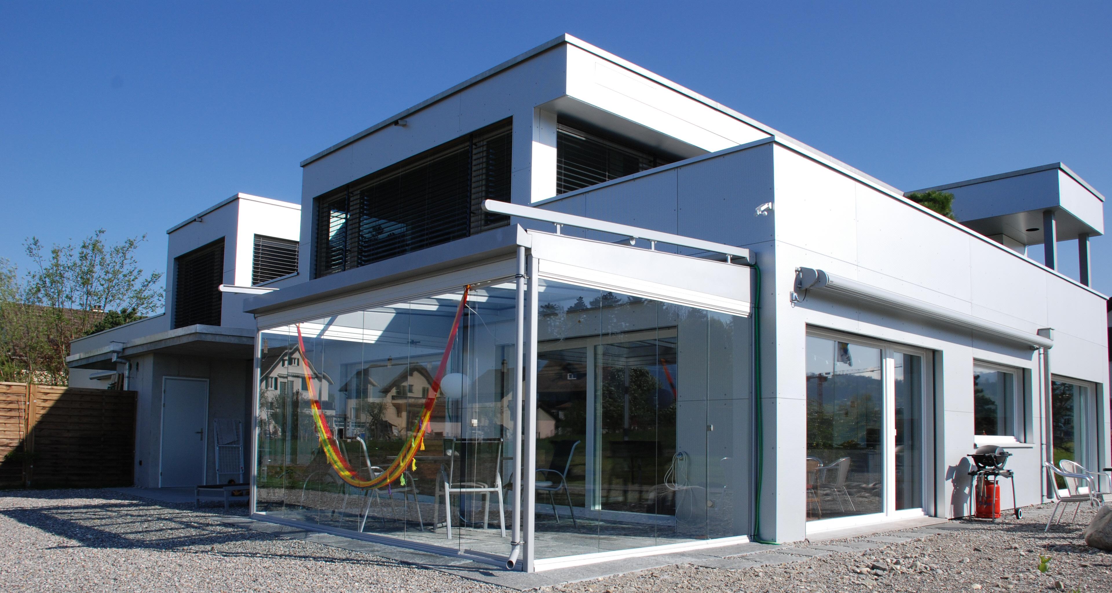 Wintergarten - Planung Standort, Ausrichtung