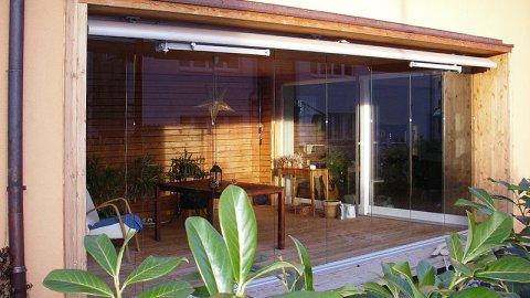 Sitzplatz-, Terrassen- und Balkonverglasungen